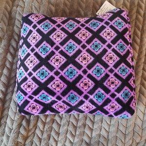 Vera bradley pillow/blanket